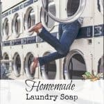 "Homemade Laundry Soap and Dryer ""Sheets"""