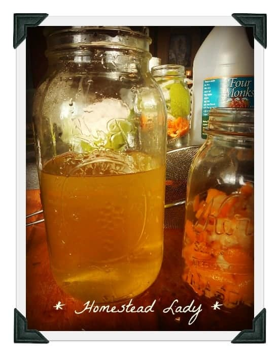 Homemade Laundry softener by Homestead Lady