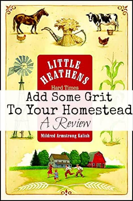 Add some grit to your homestead l Read Little Heathens l Homestead Lady (.com)