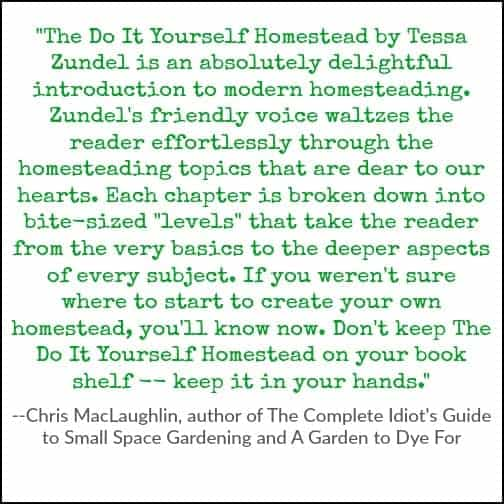 A gardener's praise for The Do It Yourself Homestead