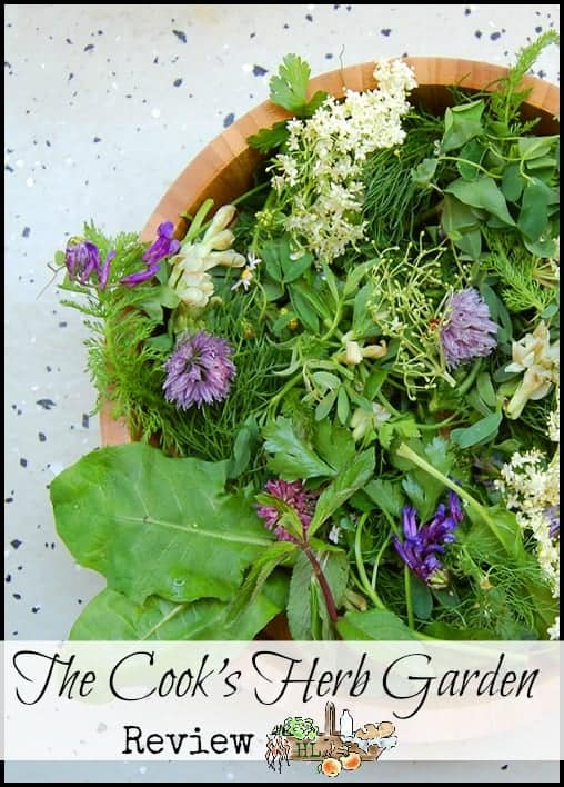 The Cook's Herb Garden Book Review l Calling all herb nerds who need another great book! l Homestead Lady (.com)