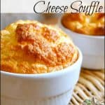 Warm Cheese Souffle from The Tasha Tudor Cookbook