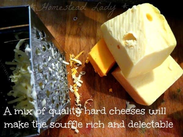 Bread crumbs for The Tasha Tudor Cookbook - Warm Cheese souffle - www.homesteadlady.com