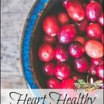Heart Healthy Cranberry Recipes
