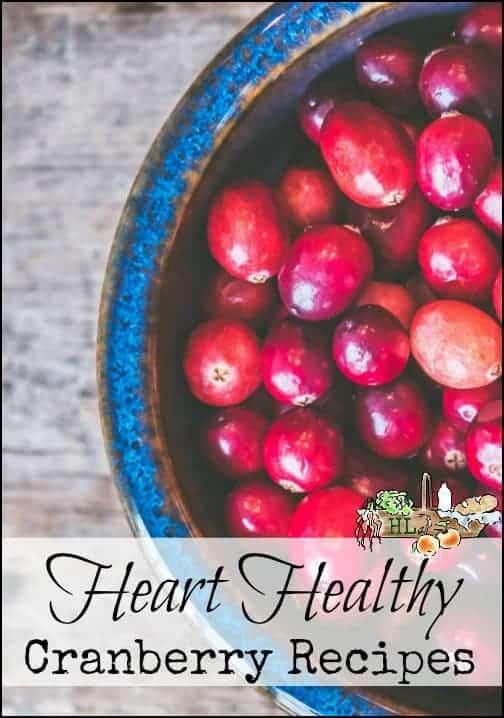 Heart Healthy Cranberry Recipes l Plus whole grain cranberry pancakes l Homestead Lady.com