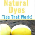 Natural Dyes for Easter – Homemade & Commercial