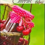 Ways to Preserve Cherries