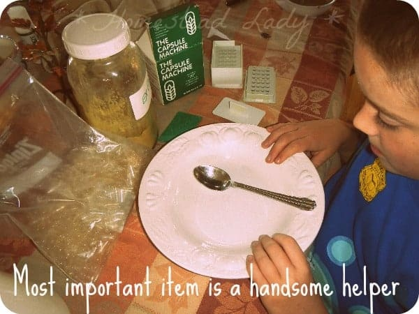 DIY Supplement Capsules - Handsome Helper - www.homesteadlady.com