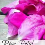 Rose Petal Homemade Ice Cream Recipe