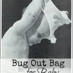 Bug Out Bag List for Baby