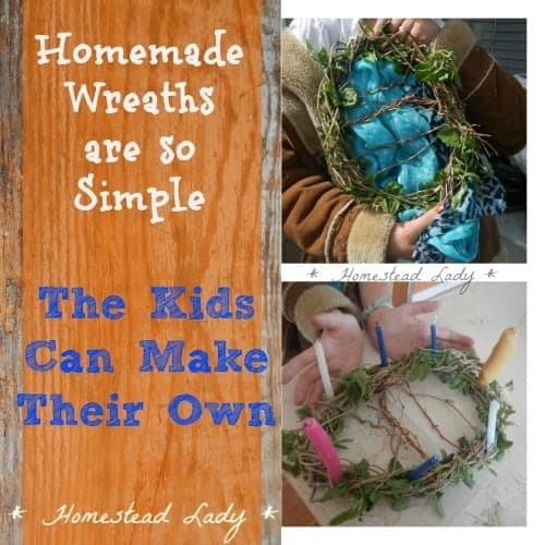 DIY Craft project for children to make l Homestead Lady