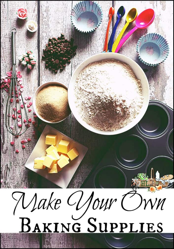 Baking Supplies: Make Your Own