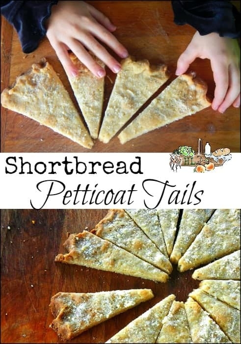 Shortbread Petticoat Tails l 4 Ingredient Shortbread l Homestead Lady (.com)