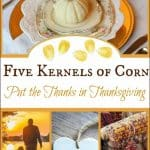 Gratitude Journal: Five Kernels of Corn
