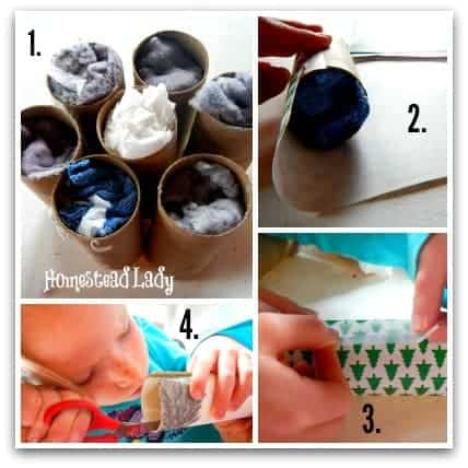 4 Last Minute Gifts for Kids to Make l Homemade Firestarters l Hometead Lady (.com)