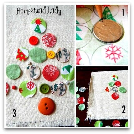 5 Last Minute Gifts for Kids to Make l Patchwork Christmas Picture l Homestead Lady (.com)