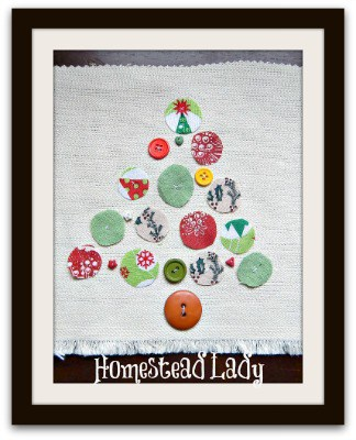 Five Gifts for Kids to Make l Patchwork Tree l Homestead Lady (.com)