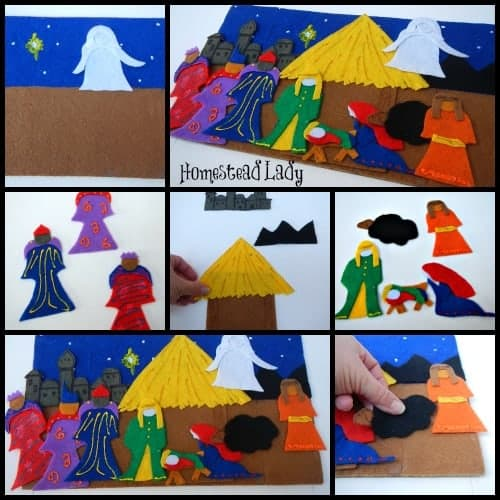 Make Your Own Nativity Sets l Kid Friendly Version l Homestead Lady (.com)