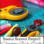 Christmas Quilts – An Easy Service Project for Kids