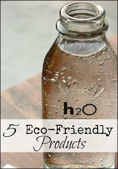 5 Eco Friendly Products for the Home and Family l Green the homestead with these non=plastic products l Homestead Lady.com