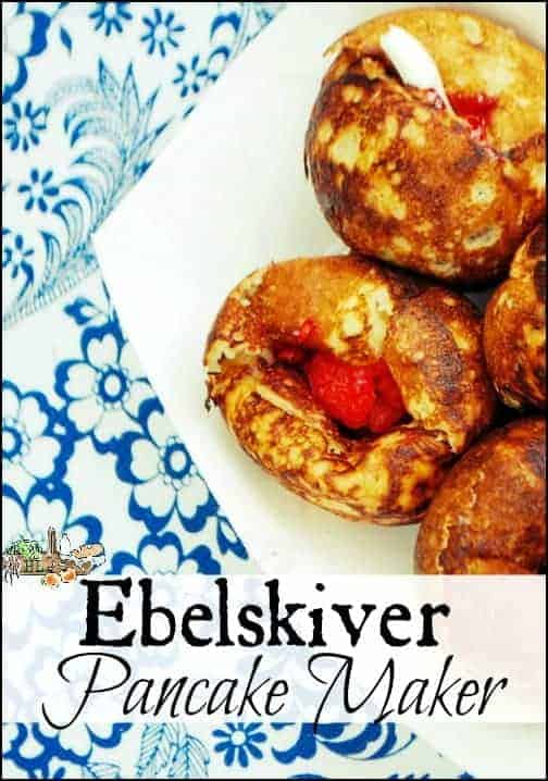 Ebelskiver Pancake Maker l Celebrate Pancake Day with Danish Ebelskiver Pancakes l Homestead Lady.com