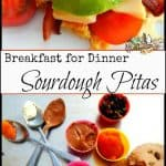 Sourdough Starter: Easy Breakfast Pitas