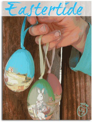 Homestead Easter Baskets l Books, Festivals, Events for Spring and Eastertide l Homestead Lady (.com)