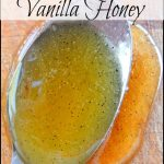 Make Your Own Vanilla Honey
