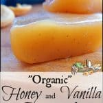 Organic Honey and Vanilla Caramels