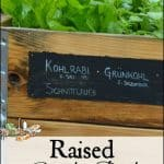 Raised Bed Garden 101