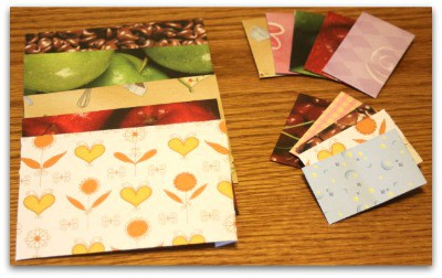 Kids Care Package Projects l Recycled envelopes l Homestead Lady (.com)