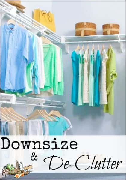 Downsize and De-clutter l Tiny house living with Kon Mari l The life changing magic of tidying up l Homestead Lady (.com)