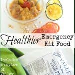 Healthier 72 Hour Kit and Backpacking Food