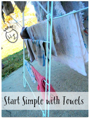 Clothes Drying Rack l Start simple l Homestead Lady (.com)