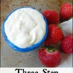 3 Step Sour Cream