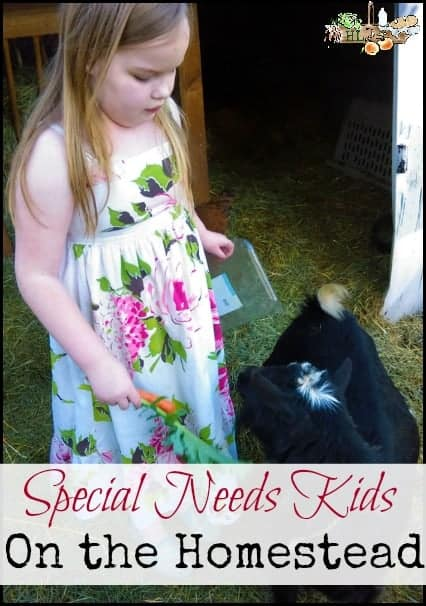 Special Needs Kids on the Homestead l How the Homestead Can Help Raise Happy Special Needs Kids l Homestead Lady (.com)