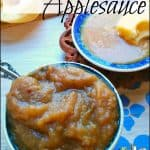 Caramel Applesauce for Canning