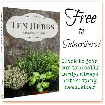 Ten herbs from Garden to Table for free!