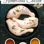 Canned Meat: Homestead Chicken