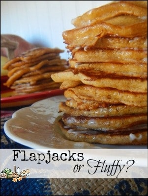 Sourdough Pancakes with Crunchy Buckwheat l Do you want flatter flapjacks or fluffy pancakes l Homestead Lady (.com)