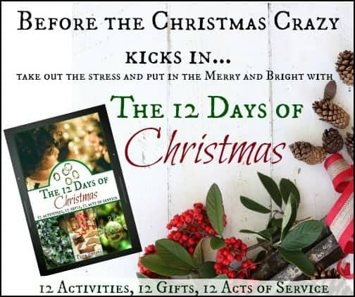 The 12 Days of Christmas l Ebook l Crafts Recipes Service Activities