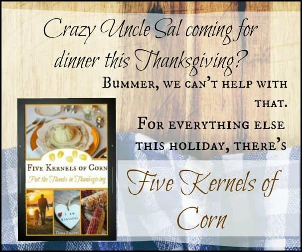 Five Kernels of Corn l Ebook Thanksgiving Recipes Journals Family l Homestead Lady