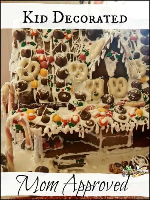 Healthy Gingerbread House l Whole ingredients, organic candies, holiday fun l homesteadlady.com