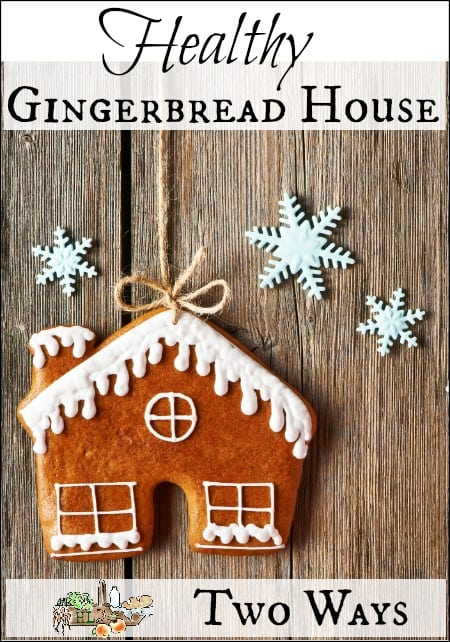Healthy Homemade Gingerbread House Recipe  2 Ways l Homestead Holidays as a Family l Homestead Lady.com.jpg