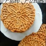 Paleo Snacks: Pizzelle Cookies