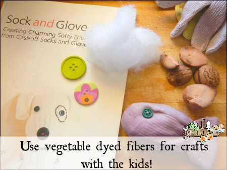 Reduce Food Waste with Vegetable Dyes l Natural dyes are a great kids craft l Homestead Lady.com