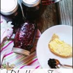 Substitute for Pectin: Blackberry Jam with Shredded Apple