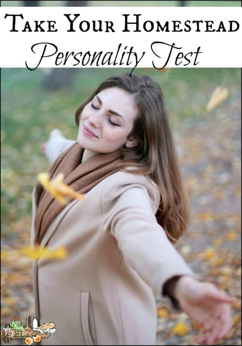 Homestead Personality Test l Find out how your personality effects your homestead l Homestead Lady.com