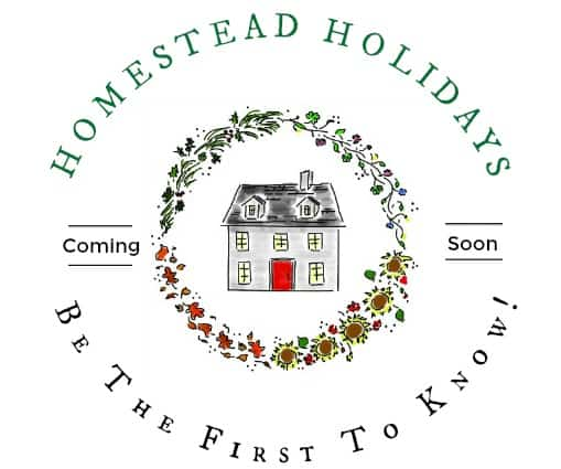 Homestead Holidays Newsletter Sign Up l Homestead Lady.com