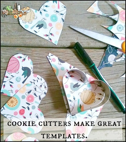 3 Cookie Cutter Crafts for Any Holiday l Cookie cutters make great templates l Homestead Lady.com